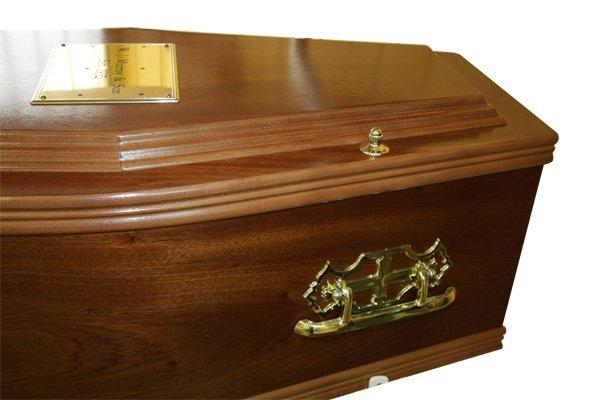 No. 3 Mahogany Coffin