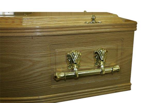 No. 3 Oak Coffin