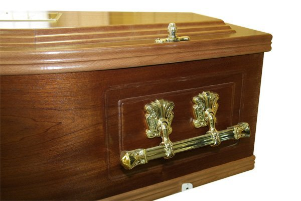 No. 2 Mahogany Coffin