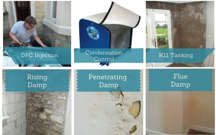 Tanking and Damp Proofing