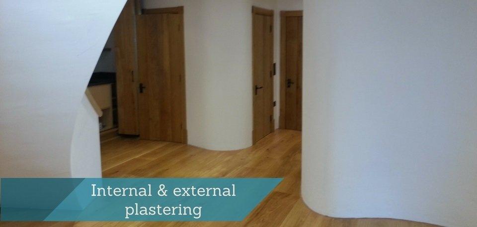 Internal external plastering
