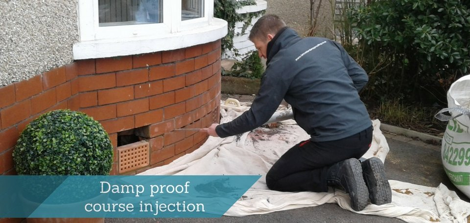 Damp proofing in north lancashire