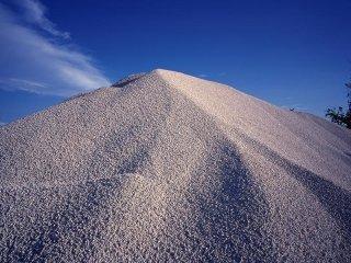Sabbia per edilizia