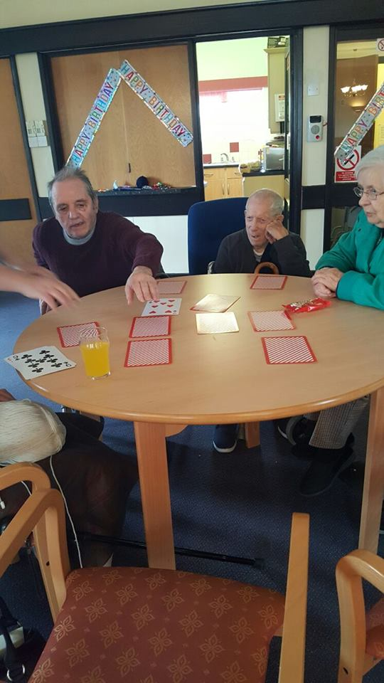 Memory engaging activities for the elderly