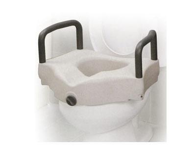 Rialzo per WC con braccioli fissi