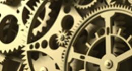 ingranaggi di orologi meccanici
