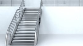 scale per esterni, passamano in acciaio, carpenteria metallica