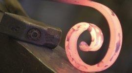 martello, ferro battuto, fuoco