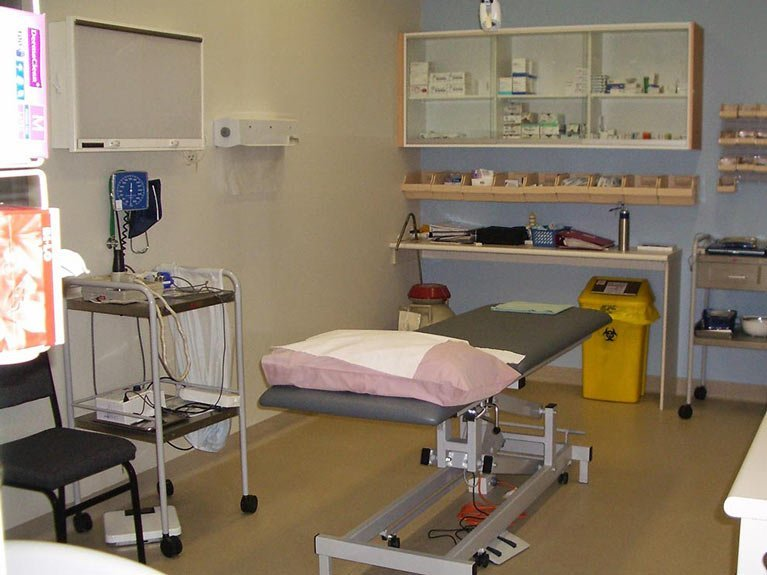 Absolute medical services exam room