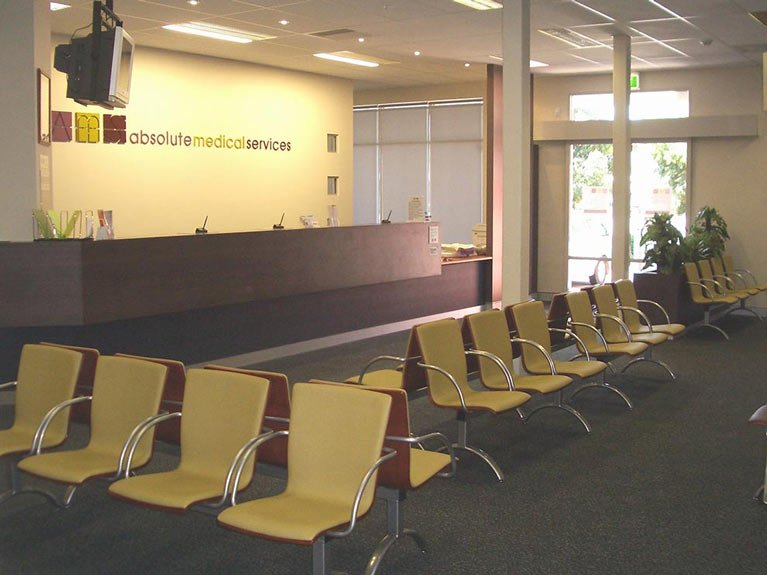 Absolute medical services reception