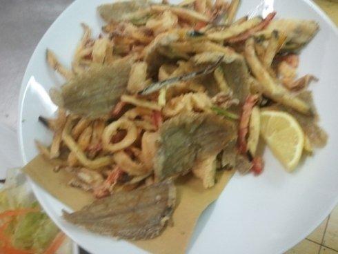Fritti misti e fritture di pesce