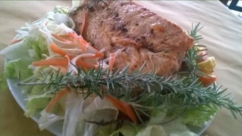 Pesce spada in porchetta