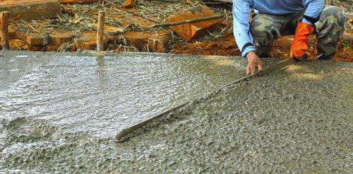 Concrete contractors services in Chillitone OH