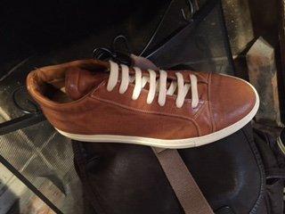 scarpa alta marrone