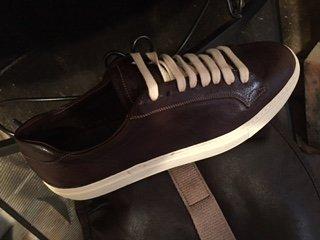 scarpa marrone scuro