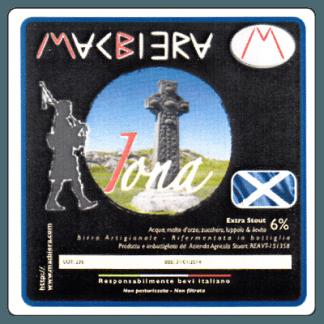 MacBiera - Iona - birra extra stout