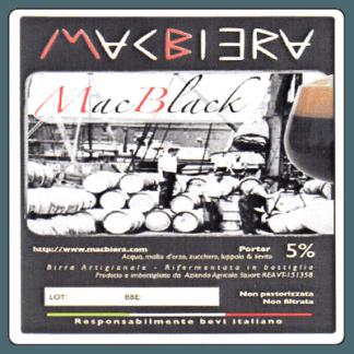 MacBiera - MacBlack - Birra porter