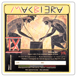 MacBiera - IX - birra strong ale