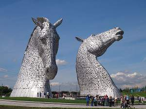 The Kelpies, Falkirk