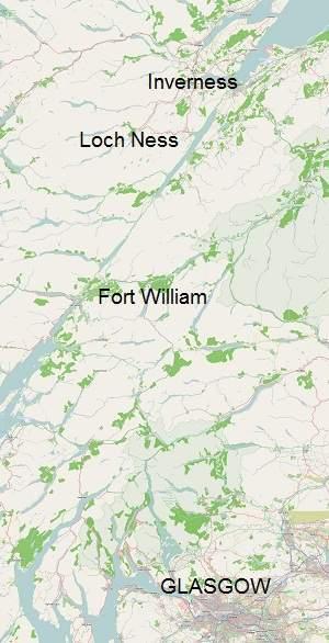 Loch ness map