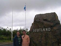 English Scottish border