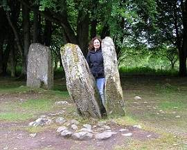 Clava Cairns Split Stones