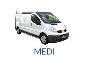 noleggio furgoni di medie dimensioni a Pescara e Montesilvano