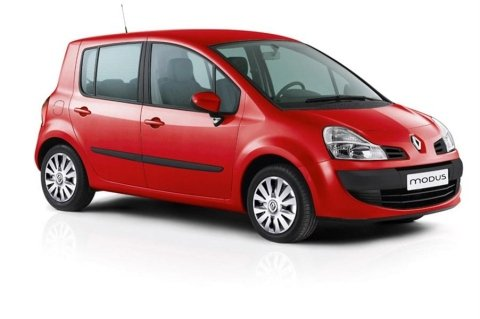 noleggio Renault Modus