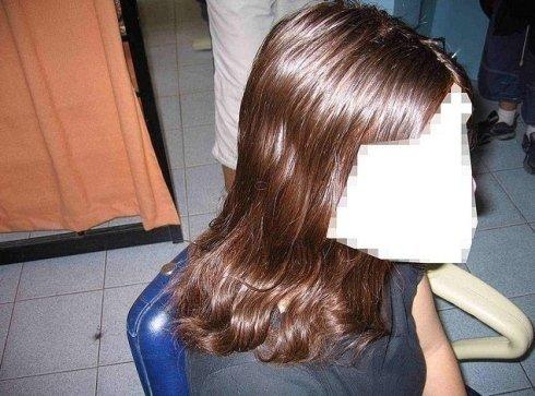 Allungamento capelli femminili