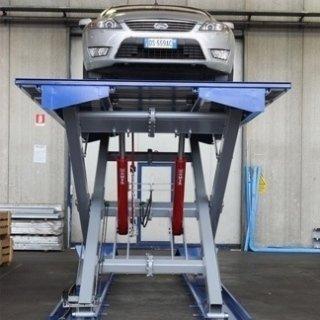 piattaforme idrauliche auto