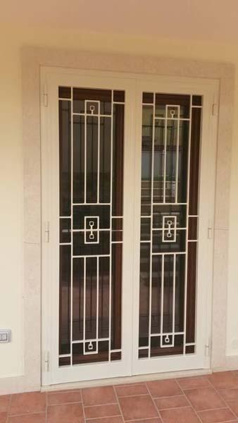 inferriate di ferro per finestre