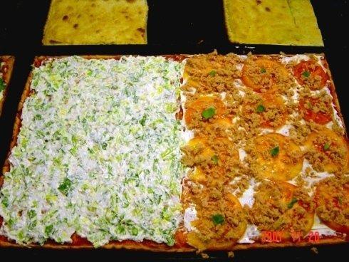pizza al taglio fredda