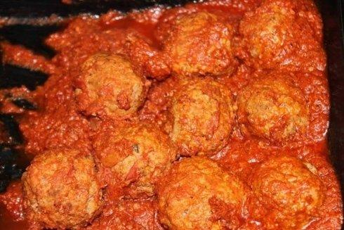 polpette, polpettine, in umido, al pomodoro, Fiano Romano