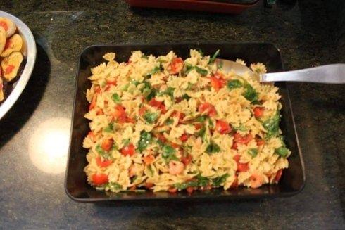 piatti freddi, pasta fredda, insalate di pasta, Fiano ROmano