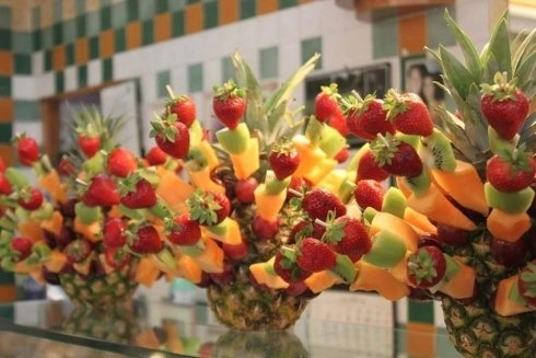 spiedini di frutta, Fiano Romano