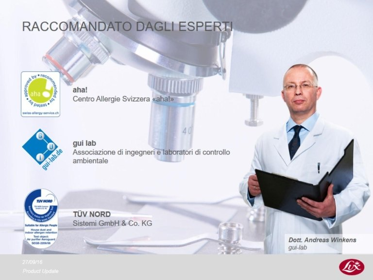 Certificazione Aeroguard S4