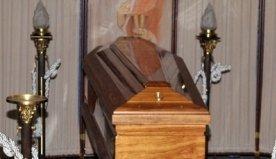 allestimento per rito funebre