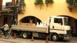 camion, furgone traslochi, trasloco soffitte
