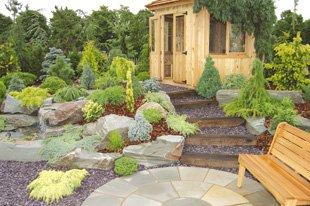 garden shed - Garden Design Kendal