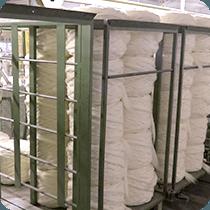 Ripettinatura fibre naturali