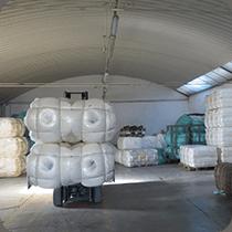 Lavorazione fibre tessili
