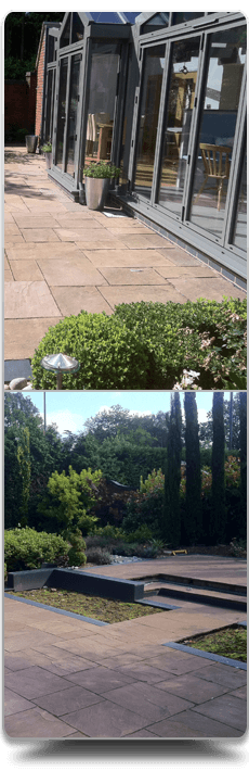 Beautiful patios and home extensions