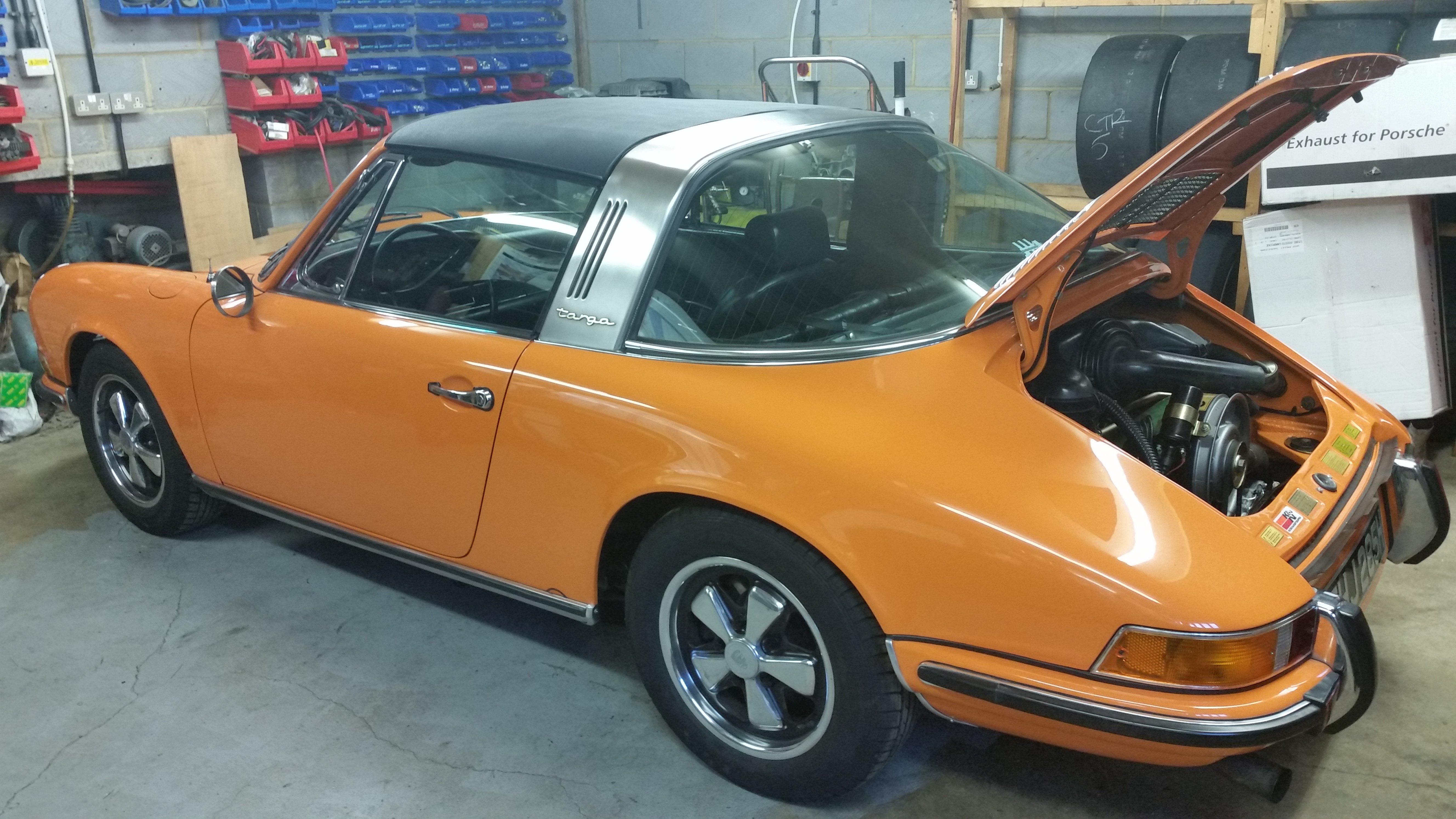 rear open car