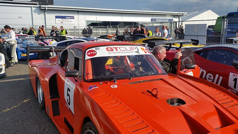 GTCUP participating car