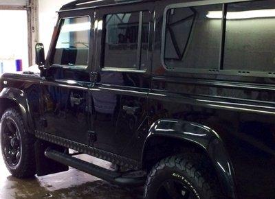 a stunning jeep