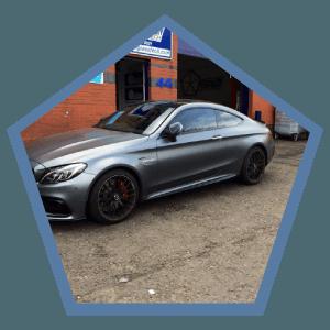 luxurious sedan car