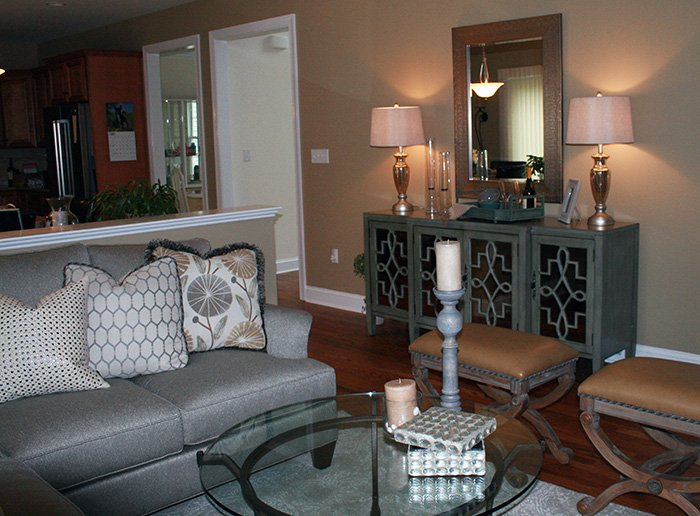 Living Room Interior Design - Fredon, NJ