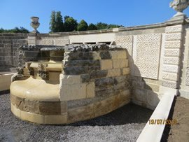 The restored and rebuilt cascade