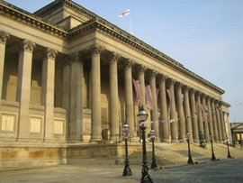 St George's Hall cleaned