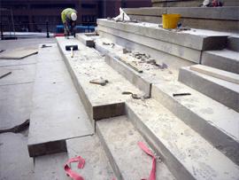 Repairing steps
